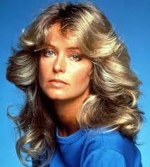 farrah fawcett hair color farrah fawcett famous celebrity hairstyles hairstyle pinterest