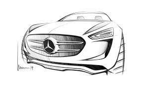 mercedes benz vision g code concept design sketch sketch