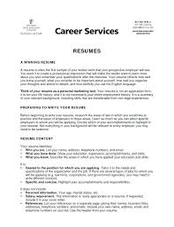 types resume different types of resumes samples experience resumes