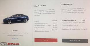 the tesla model 3 a 35 000 sedan edit specs revealed