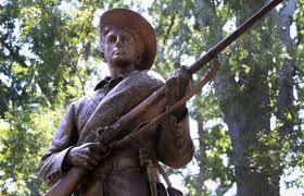 Black Flag Statue Puzzle Silent Sam Confederate Statue At Unc Should Come Down Many Say
