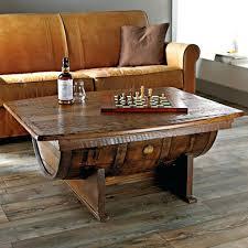 Wine Coffee Table Side Table Barrel Side Tables Wine Table With Shelf Barrel Side