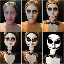 Halloween Skeleton Make Up by Musely