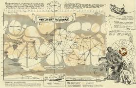 Map Of Oz Erbzine 3937 Barsoom Maps
