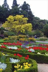 New Zealand Botanical Gardens Knot Garden Dunedin Botanic Garden Gardens Te Ara