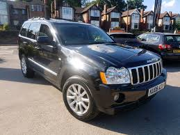 black jeep grand cherokee 2008 jeep grand cherokee 3 0 crd v6 overland auto 4x4 black