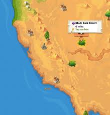 black rock desert map image black rock desert location map png here be monsters wiki