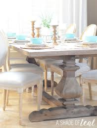 Modern Rustic Dining Room Table Modern Rustic Dining Table Update With Urban Home