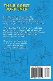 Funny Halloween Poems For Kids The Biggest Burp Ever Funny Poems For Kids Kenn Nesbitt Rafael