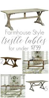 Where To Buy Outdoor Furniture Where To Buy A Farmhouse Trestle Style Farm Table Fox Hollow Cottage