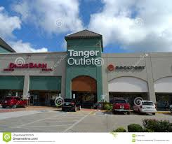 tanger outlets mall in branson missouri editorial photography