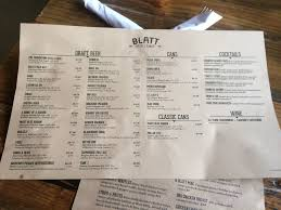 blatt beer and table menu omaha food blatt beer and table julianna blogs