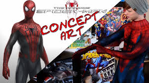 amazing spider man 2 concept suit review and unboxing youtube