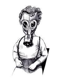 gas mask drawings u2014 rich tomasello art
