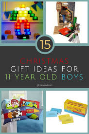 15 unique gift ideas for 11 year boy