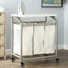 folding table with storage laundry folding table gettabu com
