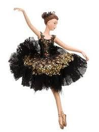 winter ballerina ballet dancer ornaments