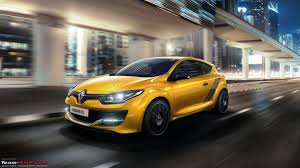 all new renault megane sedan unveiled team bhp