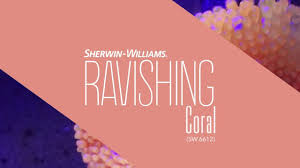 september 2016 color of the month ravishing coral sherwin