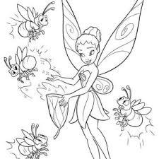 disney beautiful fairies tambourine coloring disney