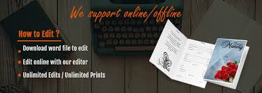 Where To Print Funeral Programs How To Write A Funeral Program Obituary Using Template