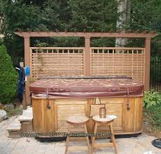 Backyard Privacy Screens by 43 Best Backyard Pergola And Privacy Screens Images On Pinterest