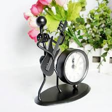 iron gifts qm835 creative gifts buy goods with high end fashion clock guitar