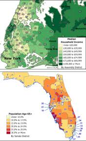 Florida House Districts Map State Legislative Districts Download Caliper Store