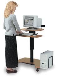 ergonomic standing computer desk 10 wonderful standing computer