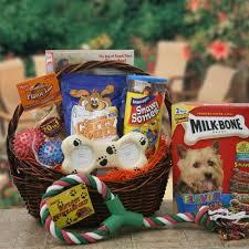 doggy item gift basket gift ideas pinterest gift basket