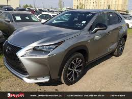 2015 lexus rc 200t for sale new atomic silver on red 2015 lexus nx 200t awd f sport series 1