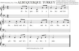 albuquerque turkey american children s songs the usa