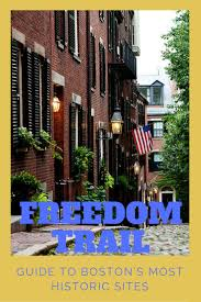 Freedom Trail Map Boston by 29 Best City Guide Boston Images On Pinterest Boston