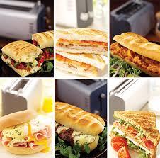 Kenwood Sandwich Toaster Kenwood Toaster Virtu Multifunction Toaster With Adjustable Slots