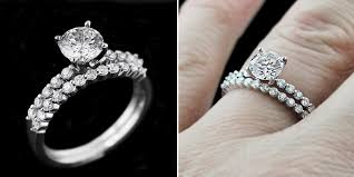 engagement ring and wedding band set new cheap wedding rings