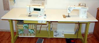 cheap sewing machine cabinets my new sewing table candied fabrics