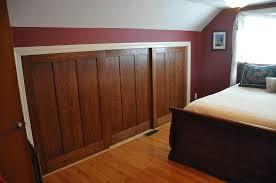 Wood Sliding Closet Door Wood Sliding Closet Doors