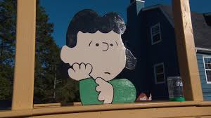 peanuts yard created by snoopy superfans