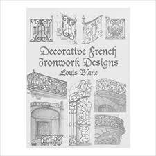decorative ironwork designs by louis blanc 1 500