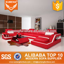 genuine leather sofa set sumeng 2017 new design genuine leather sofa set living room