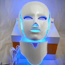 Masker Led the best 7 color led light therapy mask session anti aging