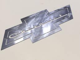 chevy bow tie metal art chevrolet cars mechanic wall art