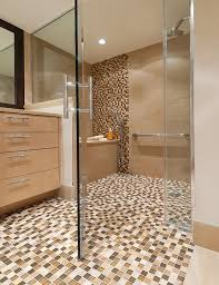 earth tone bathroom designs bathroom floor bathroom mosaic tiles designs using small design