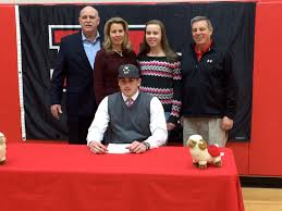College National Letter Of Intent Four New Canaan High School Seniors Sign On National Letter Of