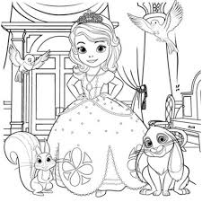 coloriage princesse a imprimer gratuit