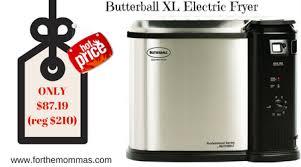 butterball xl butterball xl electric fryer only 87 19 shipped reg 210