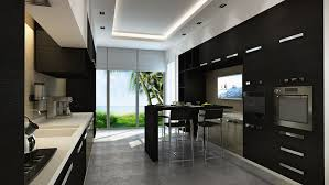 Black Gloss Kitchen Cabinets by Cabinets U0026 Storages Stunning Rectangular Tray Ceiling With