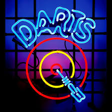 neon sign dart board neon sign details lighten up pinterest