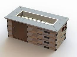 Building A Propane Fire Pit Fire Pit Building Plan Diy Backyard