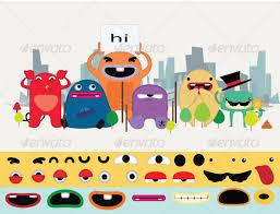 25 amazing psd u0026 eps cartoon character illustrations web